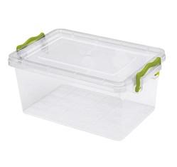 Plastový box s vekom, objem 15,5l
