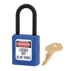 Nevodivý bezpečnostný visiaci zámok - systém hlavného kľúča