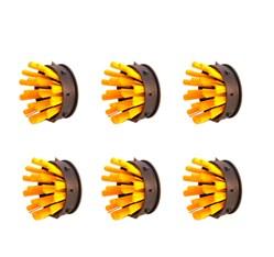 Čistiace kefky Oct-O-Mat (10 ks/balenie), žlté