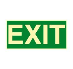 Exit - hliník - 30,0 x 15,0 cm