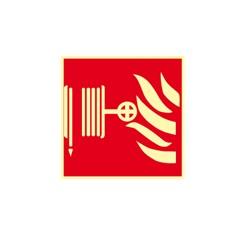 Požiarna hadica - fólie - 10,5 x 10,5 cm