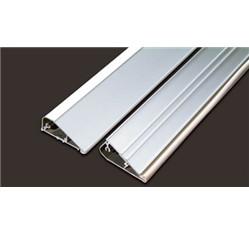 Hliníková lišta pre nástennú montáž fotoluminiscenčných pások (6,0 x 300 cm)
