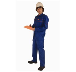 Ochranný odev s trvalou nehorľavou úpravou antistatický 46