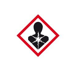 Látky nebezpečné pre zdravie 3x3 cm (10 ks)