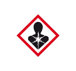 Látky nebezpečné pre zdravie 5x5 cm (10 ks)