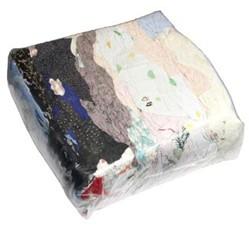 Čistiaca textília farebná - balení 10 kg