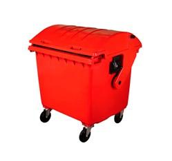 Zberný kontajner 1100 litrov, červený