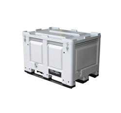 Plastový box na akumulátory s UN kódom vrátane veka  535 l