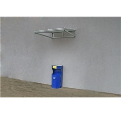 Strieška nad vchod 105 x 110 x 26 cm
