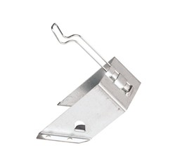 Držiak pre kovový zakladací klin