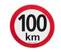 Označenie konštrukčnej rýchlosti i 80-140 km/h,  Ø 15 cm,  reflexná fólia I. triedy