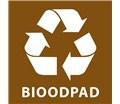Samolepka na separovaný odpad - BIOODPAD