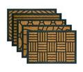 Čistiaca rohož CRISS CROSS (60 x 40 cm)